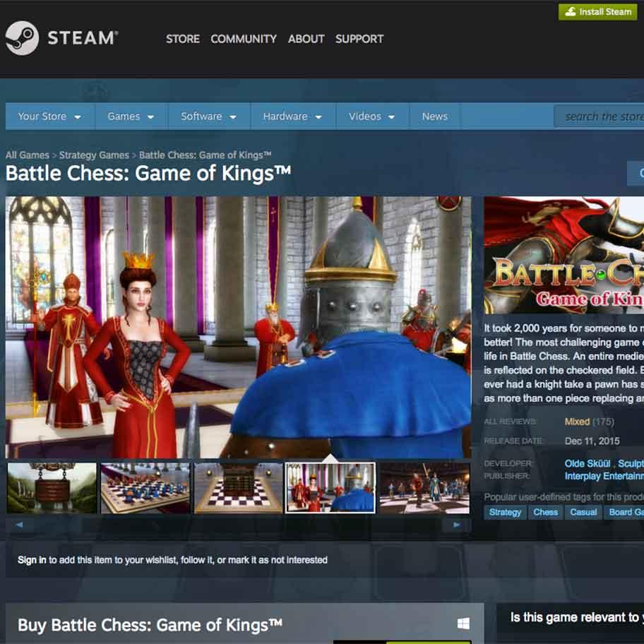 Battle Chess on Steam
