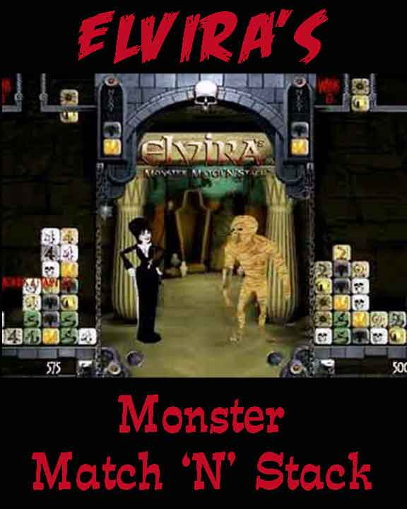 Elvira game box